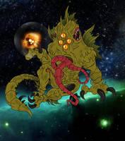 The Cthulhu Mythos: Yog-Sothoth by Cyprus-1
