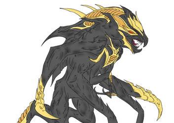 Kaiju: Kaiser-MUTO by Cyprus-1