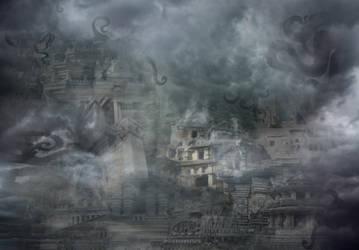 Cthulhu mythos: Invitation From Eldritch Horror by Cyprus-1