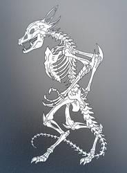 Kaiju: SLIERUS Skelethon by Cyprus-1