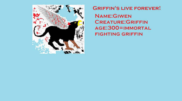 Colored Griffin