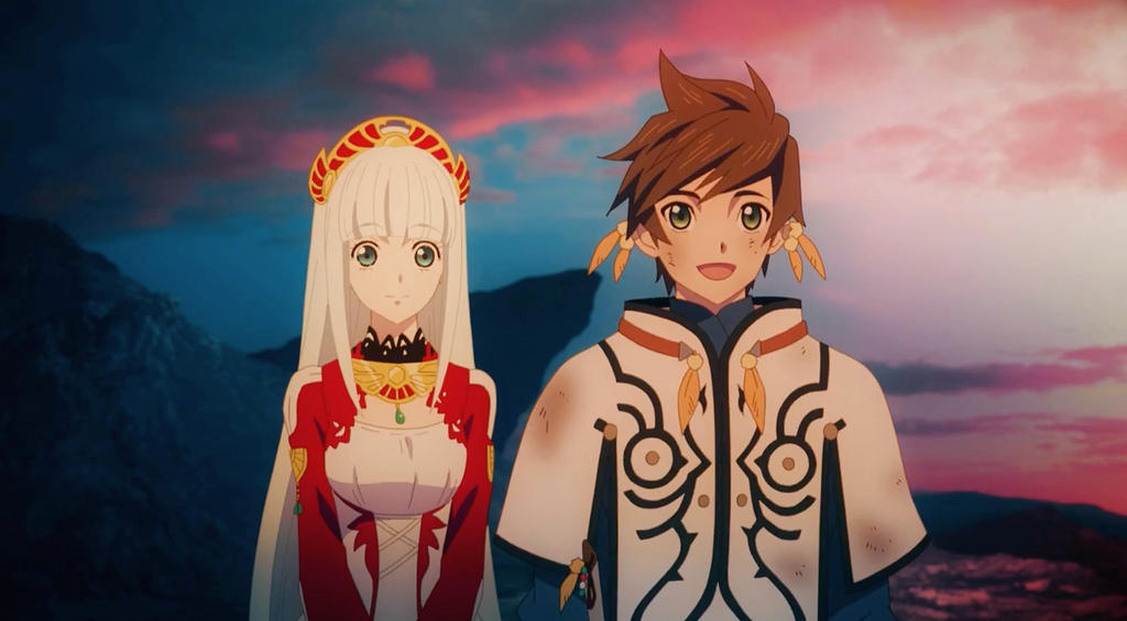 Sorey and Lailah - TOZ The X EP.8 by mkayswritings