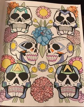 Sugar Skulls #6