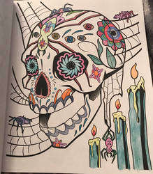 Sugar Skulls #8