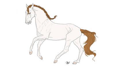 Jin Zixuan's Horse