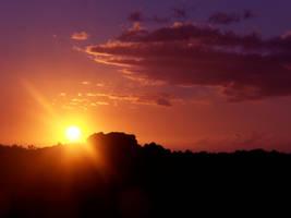 Hawaiian Sunset by Kata