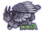 Kattira Cut Out Badge