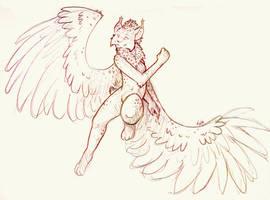 Lynxdaemonskye Sketch by Kata