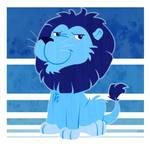 Blue Lion is Blue