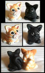Sculpey Kitties