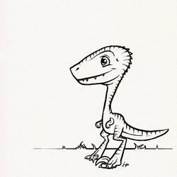 Cutest Velociraptor