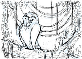 Hapi the Energetic Sloth by Kata