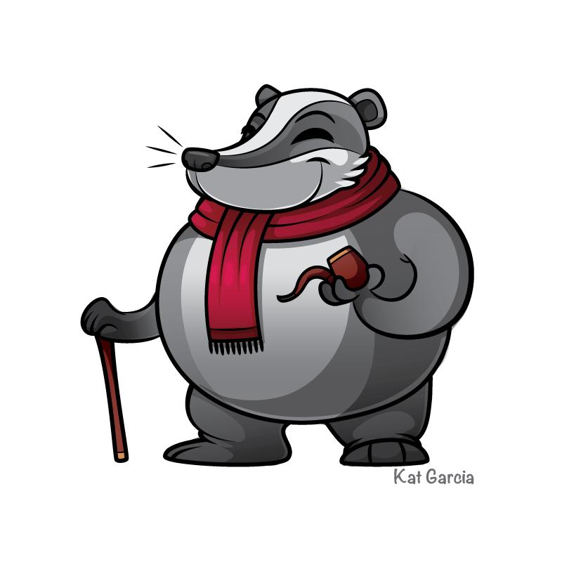 Winter Badger