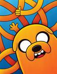 Jake the Dog by Kata