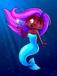 Mermaid: Purple