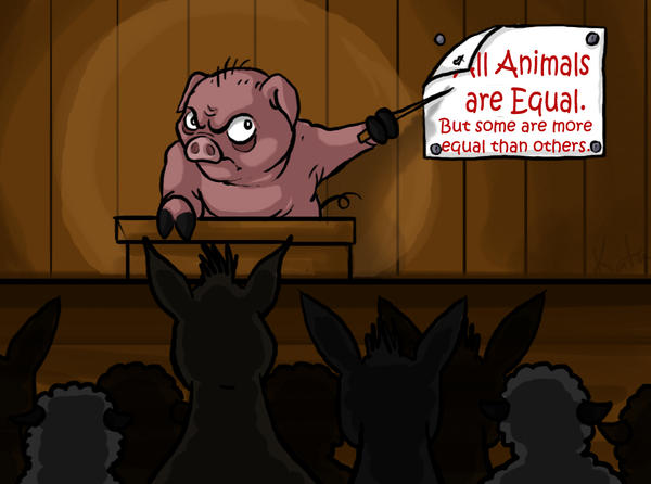 all animals are equal but some animals are more equal News science why some animals are more equal than others dogs are pets, snakes are scary and chickens are dinner but why do we see animals.