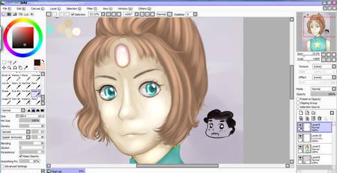 WIP: Pearl (Steven Universe)