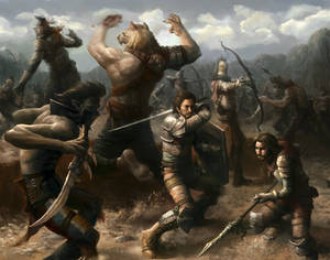 Battle for valley
