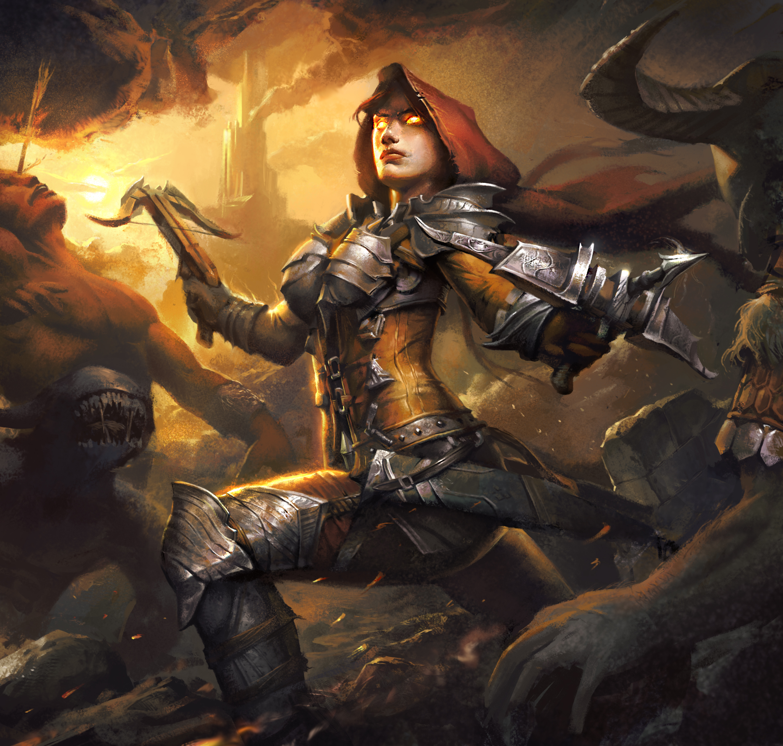 Demon Hunter Arise by Gworld