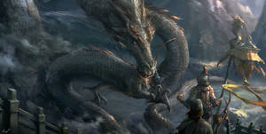 Guardian of Dragon Mountain by Gworld