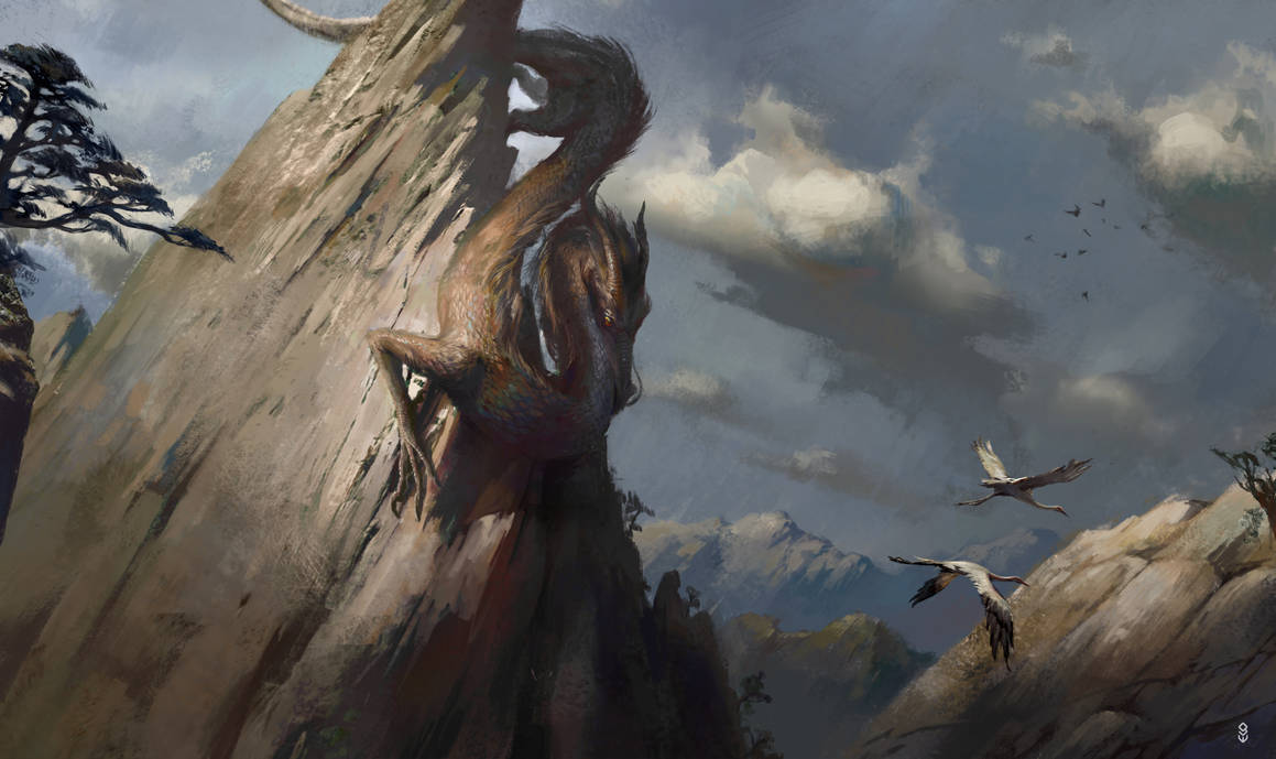 Hunting Cranes by Gworld