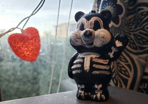 care bear muertos fest style