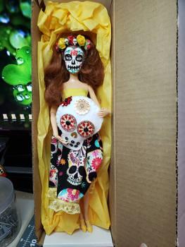 Disney Princess Belle upcycle Catrina Sugar Skull