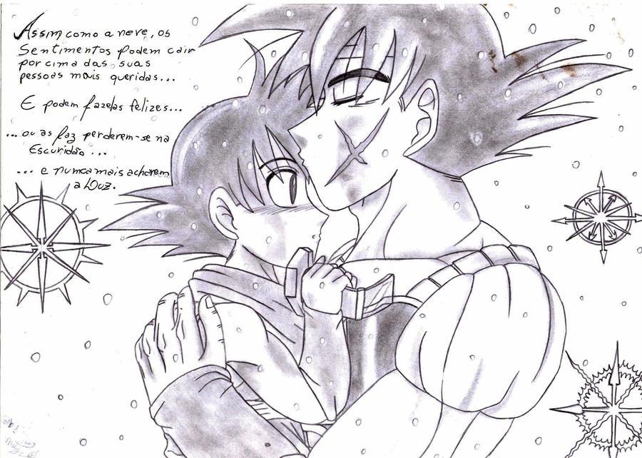 Bardock e Goku - Feeling by NatachiXD