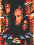 Fifth Element poster 3-D