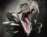 Velociraptor 3-D