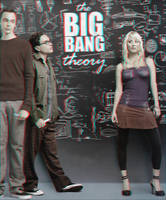 The Big Bang Theory 3-D by MVRamsey
