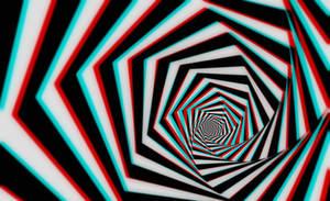 Hypnotic Tunnel 3-D