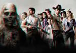The Walking Dead 3-D conversion