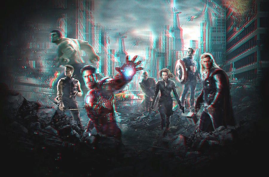 The Avengers 3-D conversion