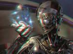 Cyborg 3-D conversion