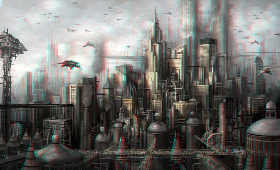 Future City 3-D conversion