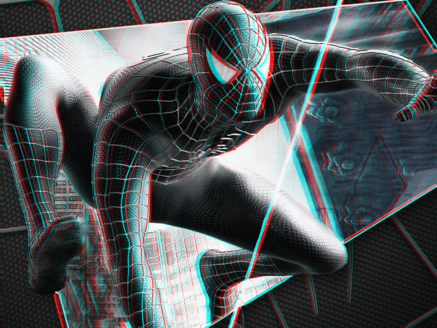 The Amazing Spiderman 3-D conversion