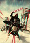 Vader Speeder Attack 3-D conversion