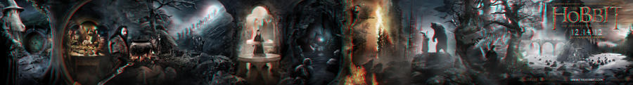 The Hobbit banner poster 3-D conversion by MVRamsey