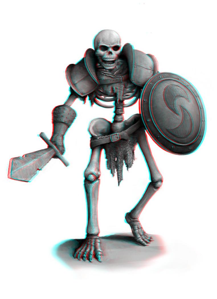Skeleton Warrior 3-D conversion by MVRamsey