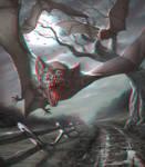 Vampire Bats 3-D conversion