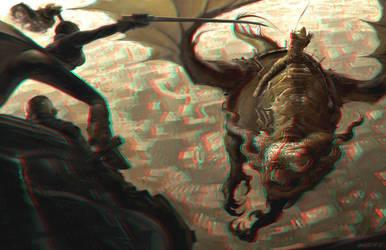 Battle Beyond 3-D conversion by MVRamsey