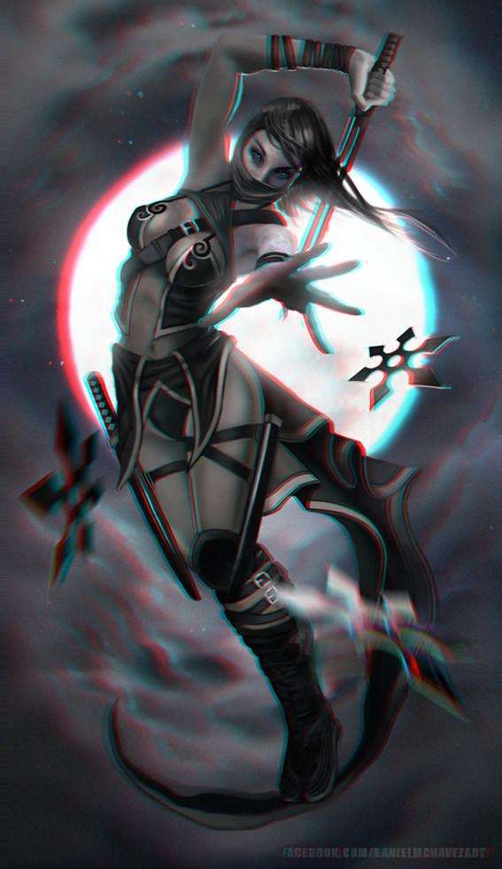 Ninja 3-D conversion by MVRamsey