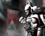 Arkham City 3-D conversion