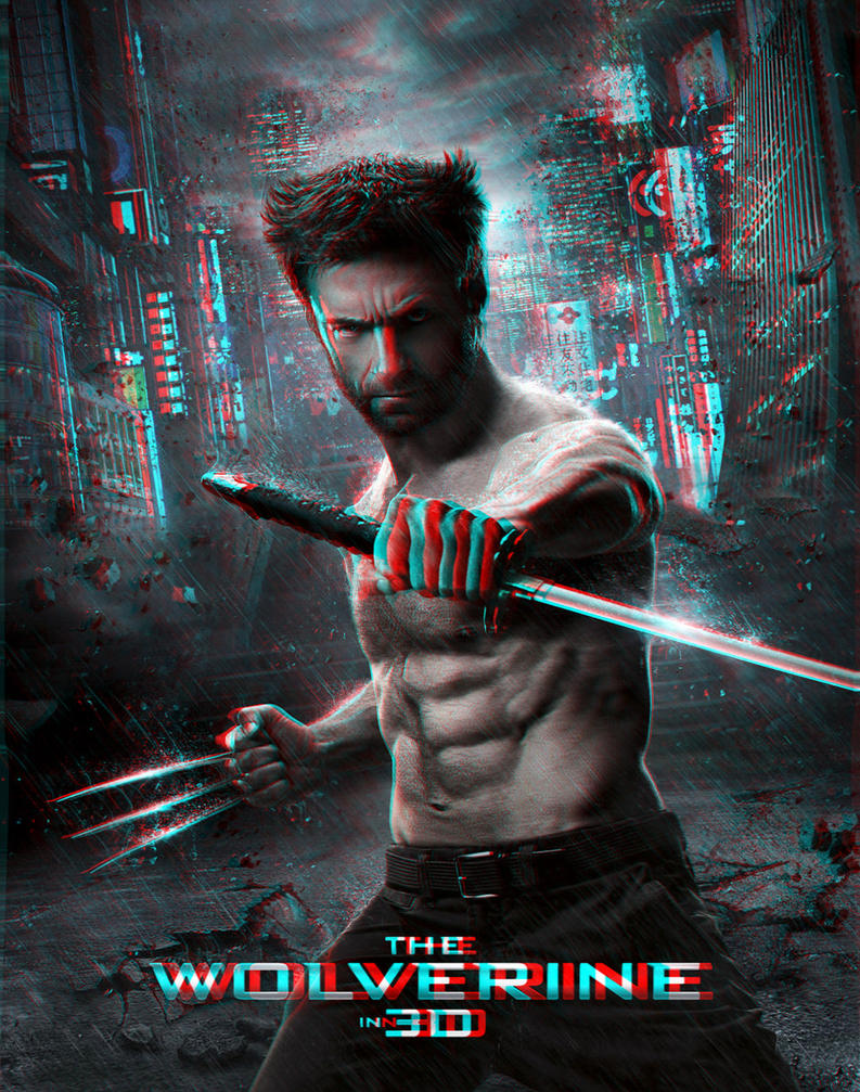 The Wolverine 3-D conversion by MVRamsey