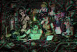 Cyberpunk Princesses 3-D conversion