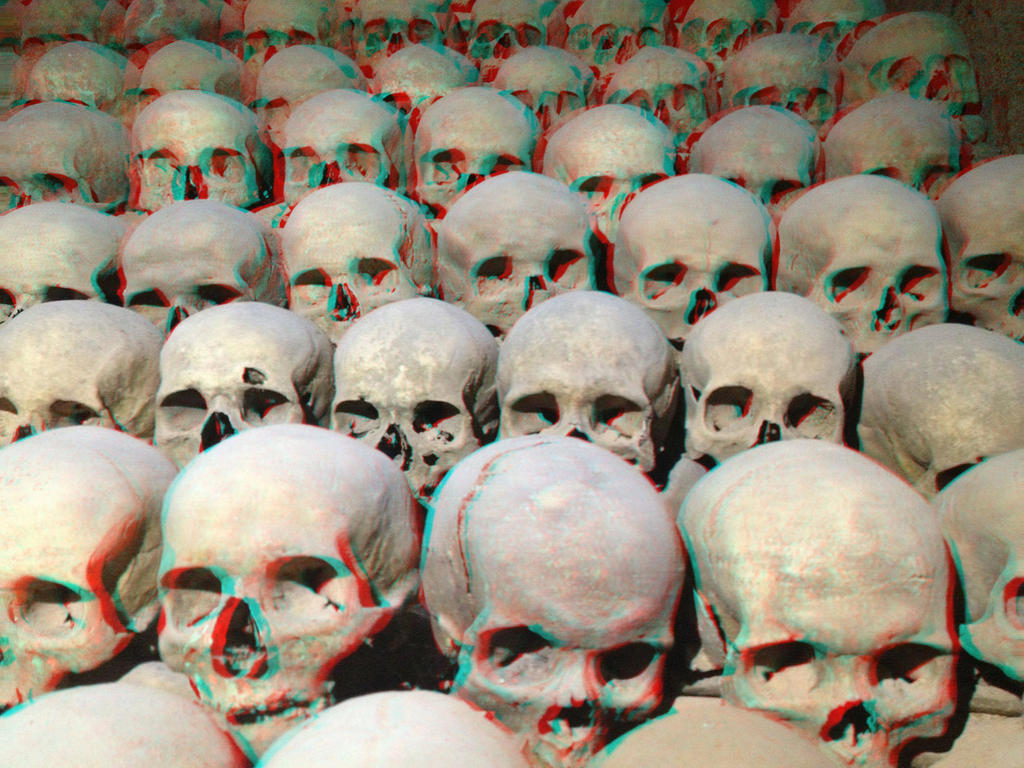 Sea of Skulls 3-D conversion by MVRamsey