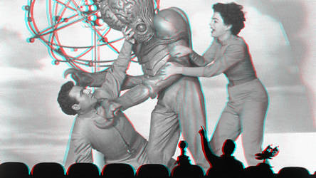 MST3K: The Movie 3-D conversion by MVRamsey