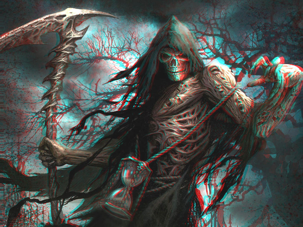Horror Reaper 3-D conversion