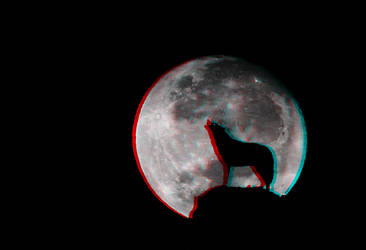 Howling at the Moon 3-D conversion